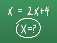 X in Algebra