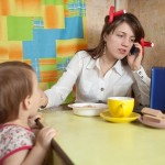 phone interruptions by your child
