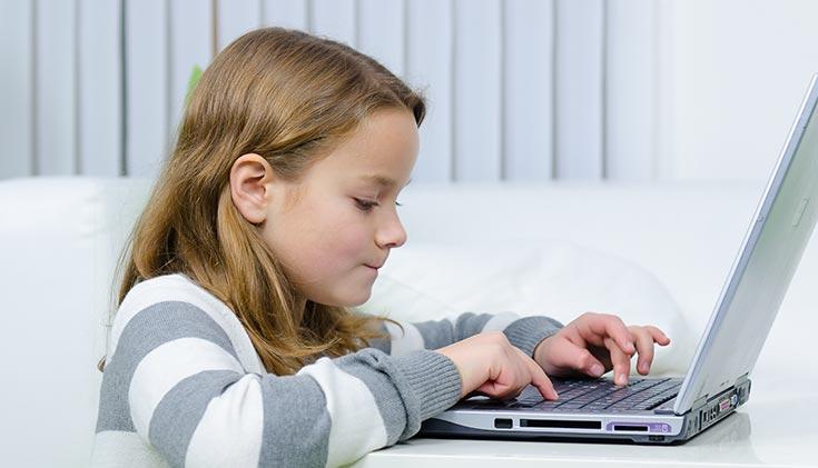 social media on child