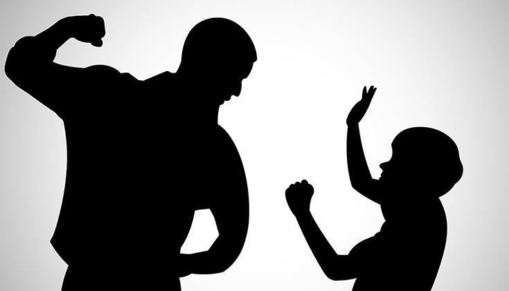 spanking misbehaving child