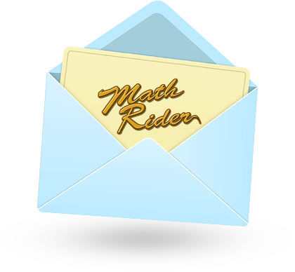 MathRider trial confirmation email
