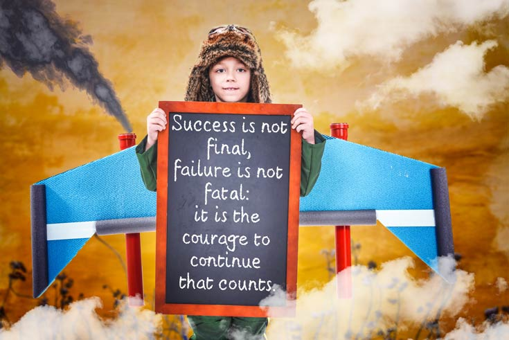 resilience is the courage to fail