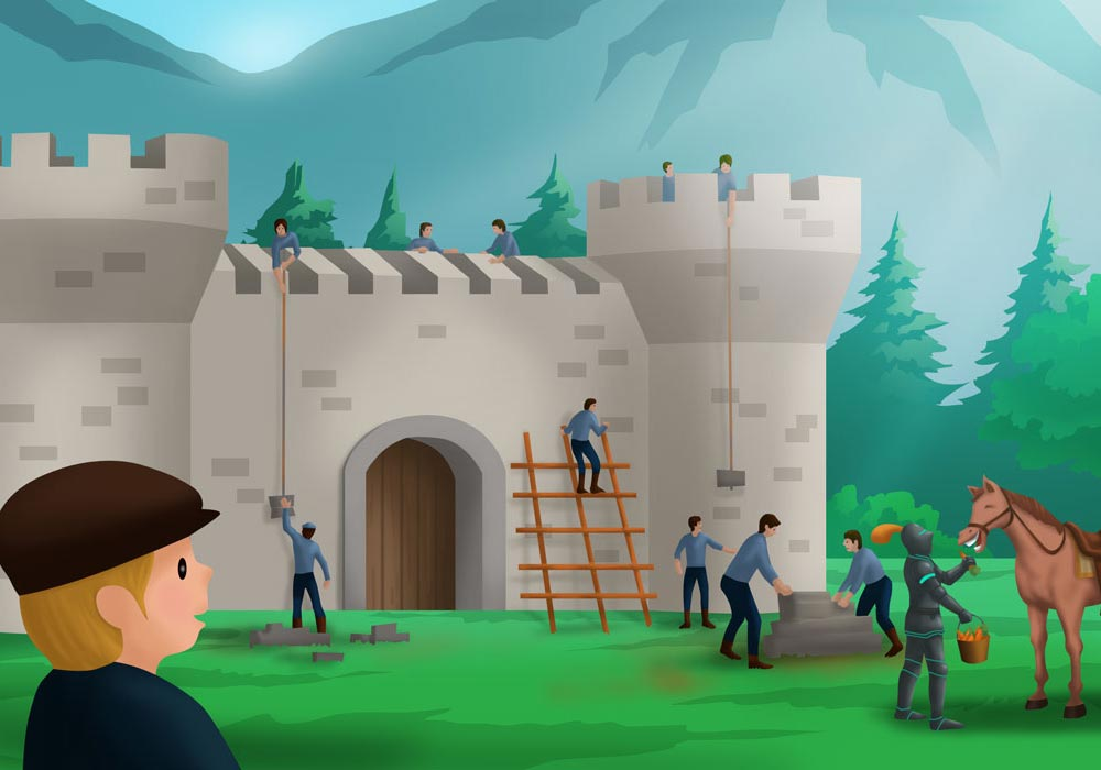 math rider game castle